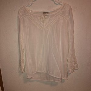 Lucky brand white shirt